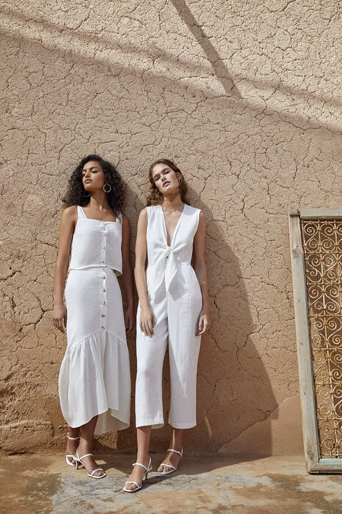 Dasha Maletina and Nikita Wiorek for Lefties Woman 5 photo by Enric Galceran